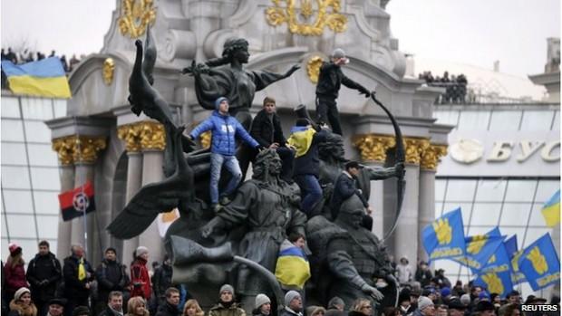 Demomstracije Kiev