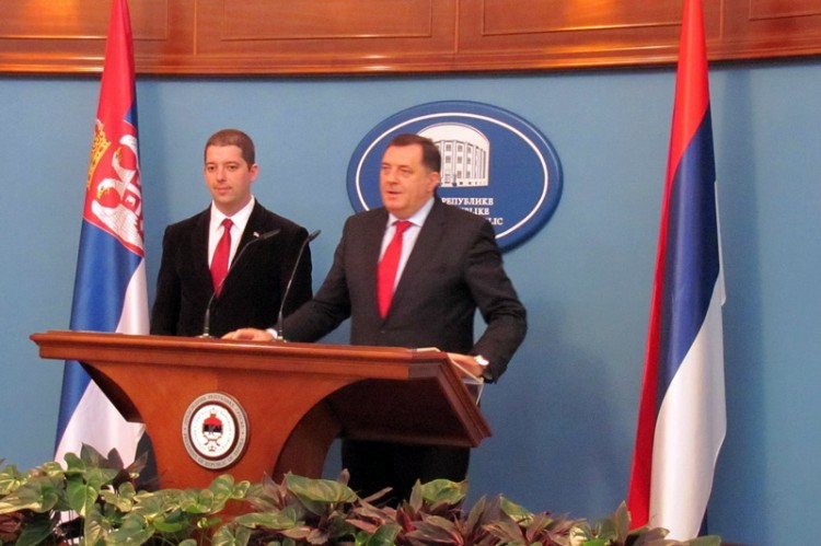 Milorad Dodik i Marko Djuric