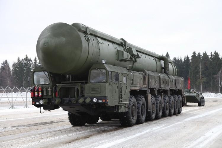 Topol-M Rusija raketa