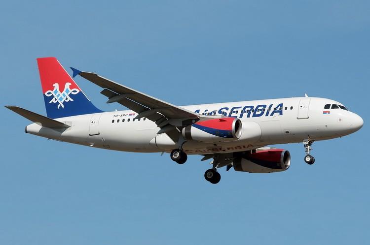 air-serbia avion