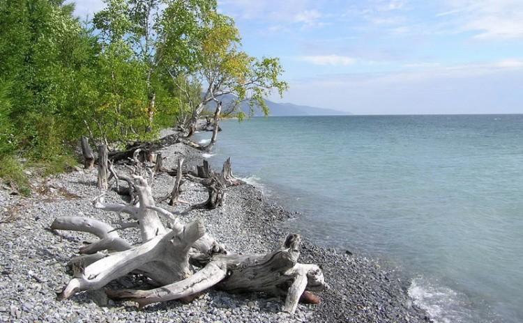 Obala Bajkala kod sela Kadiljka
