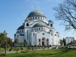 БЕОГРАД: Дочек Чудотворног пламена на Велику суботу у храму Светог Саве