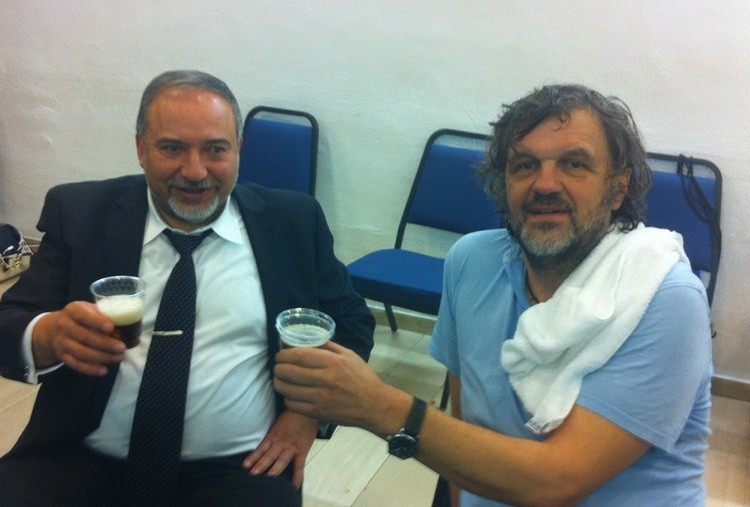 Авигдор Либерман и Емир Кустурица | Фото: СРНА