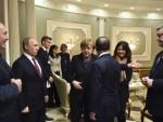 БУРАН РАЗГОВОР ПУТИНА И ПОРОШЕНКА: Преседник Украјине накратко напустио преговоре