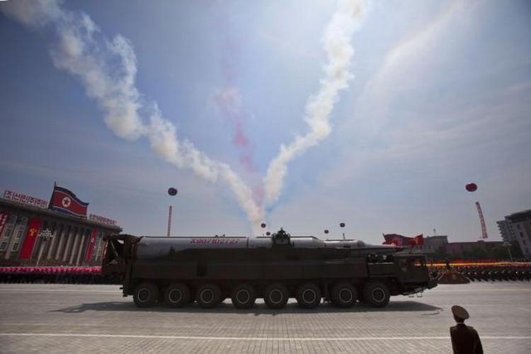 Rakete - Sverna Koreja