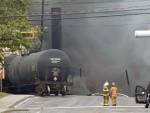 ЕВАКУИСАНА ДВА ГРАДА: Воз са сировом нафтом исклизнуо из шина