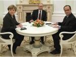 ЗАВРШЕНИ РАЗГОВОРИ ПУТИНА, МЕРКЕЛОВЕ И ОЛАНДА: Спрема се заједнички документ о решењу украјинске кризе