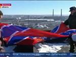 УЖИВО ПОБЕДА ПРОРУСКИХ СНАГА: Застава Новорусије вијори се над Дебаљцевом