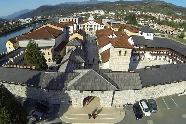 Andricgrad panorama