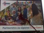 ЦГ: Уочи годишњице бомбардовања билборди подршке НАТО пакту