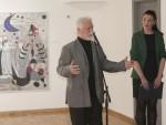 АНДРИЋГРАД: Отворена ретроспективна изложба Милана Сташевића