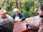 ПОСЉЕДЊИ ХЕРОЈ: После предаје дужности Мухика провео дан у друштву Емира Кустурице и краља Хуана Карлоса