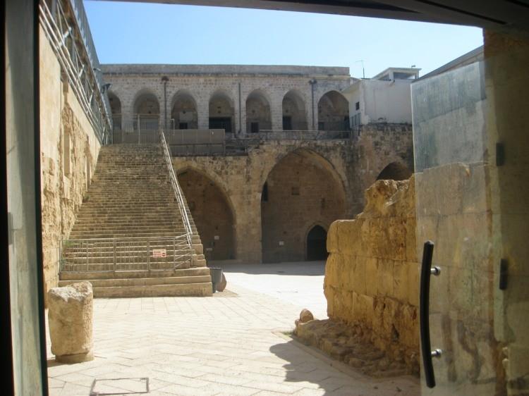 Templarska tvrđava u Akri