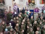 ПРИЧЕСТИО РУСКЕ ПАДОБРАНЦЕ: Владика Јован у посети Ваздушнодесантној војсци Русије