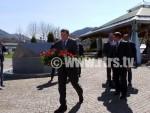 СРЕБРЕНИЦА: Додик положио вијенац у Меморијалном центру Поточари