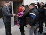 ИКОНА СВЕТОГ ЂОРЂА ЗА НОВУ НАДУ: Дванаест српских породица добило нове станове у Бањској