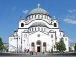 БEOГРAД: У храму Светог Саве почели припремни радови на изради мозаика