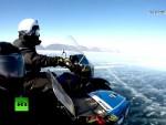 СНИМЦИ ОД КОЈИХ ЗАСТАЈЕ ДАХ: Међународни тим путника прешао мотоцикллима залеђени Бајкал