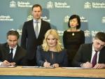 """МИЛИОН КВАДРАТА: Потписан уговор за """"Београд на води"""" вредан 3,5 милијарди евра; Игл Хилс 68, Србија 32 одсто власништва"""