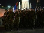 МОСКВА: На проби Војне параде на Црвеном тргу 75 војника Србије