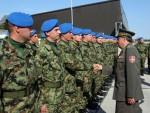 БЕОГРАД: Испраћена јединица Гарде Војске Србије у Москву