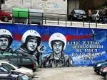 СРЦА ХЕРОЈА ВЕЧНО ЖИВЕ: У Ужицу величанствен мурал пилотима страдалим у одбрани Србије од НАТО пакта