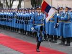 СА ПОБЕДНИЦИМА: Српска гарда на московској паради