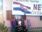 КРАСНА ДЕЦА: Наци поздрав у Хрватској