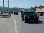 КРИЗА НА ЈУГУ: Оклопна возила ПТЈ кренула на границу са Македонијом