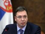 ВУЧИЋ: Поносан сам што сам први српски премијер у званичној посети Тирани!
