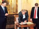 ПОЧАСТ ПРИЈАТЕЉУ: Петер Хандке почасни градјанин Београда