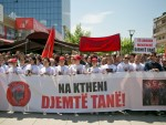 ПРИШТИНА ИСПРАТИЛА ТЕРОРИСТЕ: Комеморација косовским Албанцима убијеним у Куманову