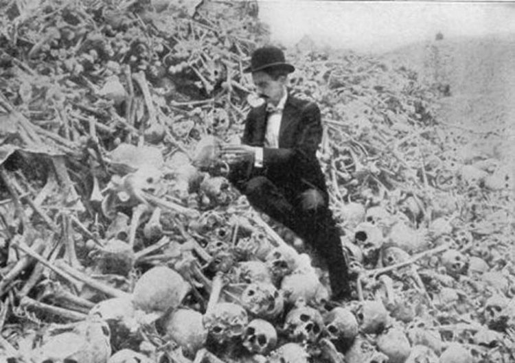 Britanska genocidna vladavina