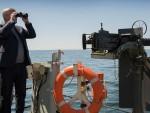 ПОГЛЕД: Канадски премијер посматрао руске бродове током НАТО вежби