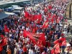 ТВРДЕ ДА СУ ДИСКРИМИНИСАНИ: Протест Албанаца у Скопљу