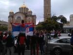 СРБИЈА ЈЕ ПРВАК СВЕТА: Славље на улицама Бањалуке (ФОТО)