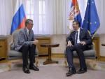 БЕОГРАД: Вучић се захвалио Чепурину на подршци Русије у СБ поводом резолуције о Сребреници