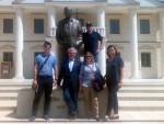 ПРИЧАЋЕ ШПАНЦИМА: Гости из Мадрида одушевљени Андрићградом