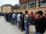 БЕОГРАД: Хуманост на делу, олакшање на лицима миграната