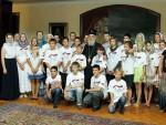 БЕОГРАД: Деца из Русије, Доњецке Републике, Бугарске, Македоније и Придњестровља код Иринеја