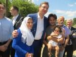 ВУЧИЋ У ПРЕШЕВУ: Политика ЕУ према мигрантима недовољно одговорна