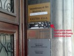 ЗАГРЕБ: Скинута табла Српског демократског форума