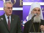 БЕОГРАД: Николић и патријарх отворили изложбу о Романовима