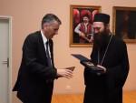 ИГУМАНУ ХИЛАНДАРА НАГРАДА ОПШТИНЕ ЧАЈЕТИНА: Нераскидива веза народа и српских светиња на Светој Гори