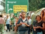ЗАГРЕБ: Улица параде излијепљена именима српских села