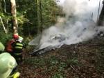 ДРАМА НА НЕБУ: Седморо мртвих у судару два авиона изнад Словачке, путници искакали падобранима
