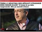 ВАРИВОДЕ СУ СЕ ИПАК ДОГОДИЛЕ: Хрватски предлог о сећању на српске жртве