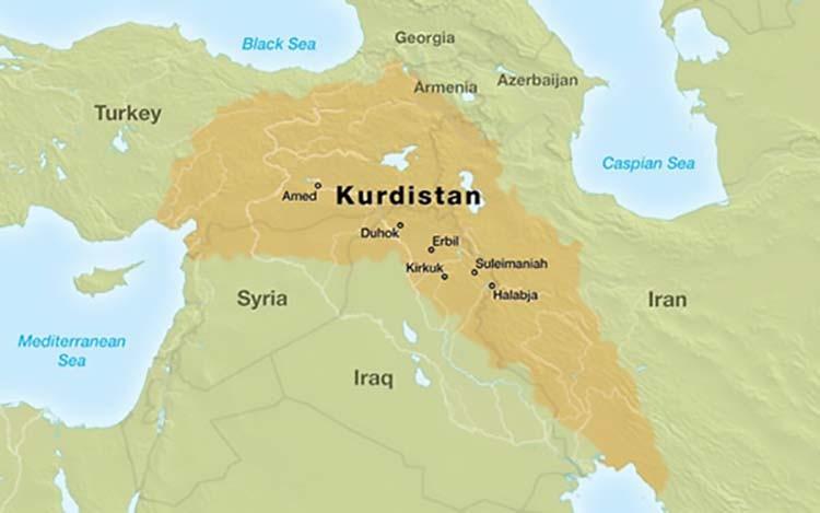 Mapa-Kurdistana