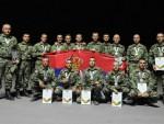 РУСИЈА: Шојгу уручио медаље српским тенкистима