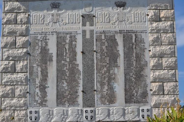 Spomenik 1912-1918